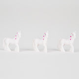 1 mini figurine licorne