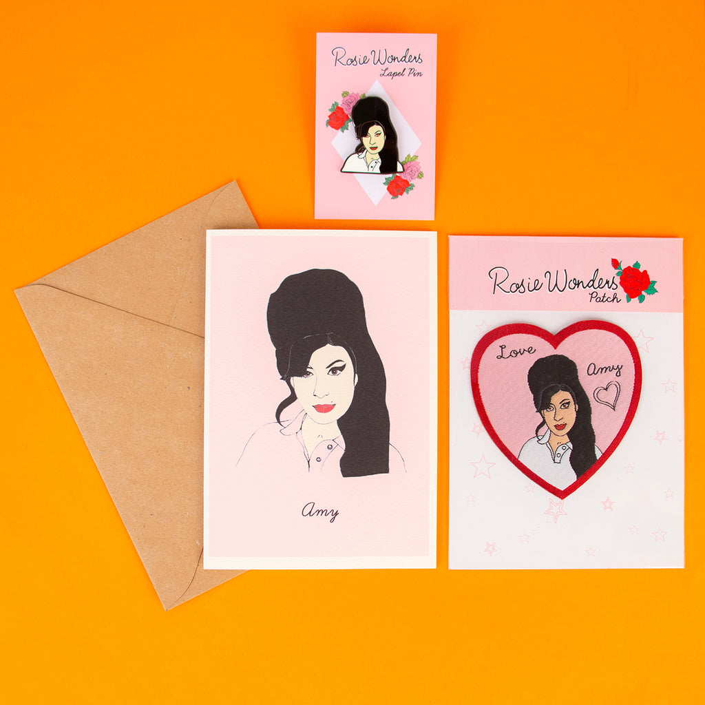 1 carte - Amy Winehouse