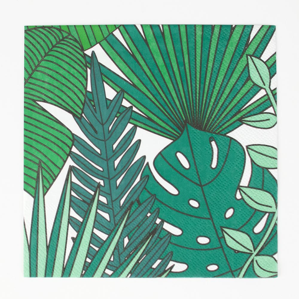 20 serviettes tropicales - My Little Day