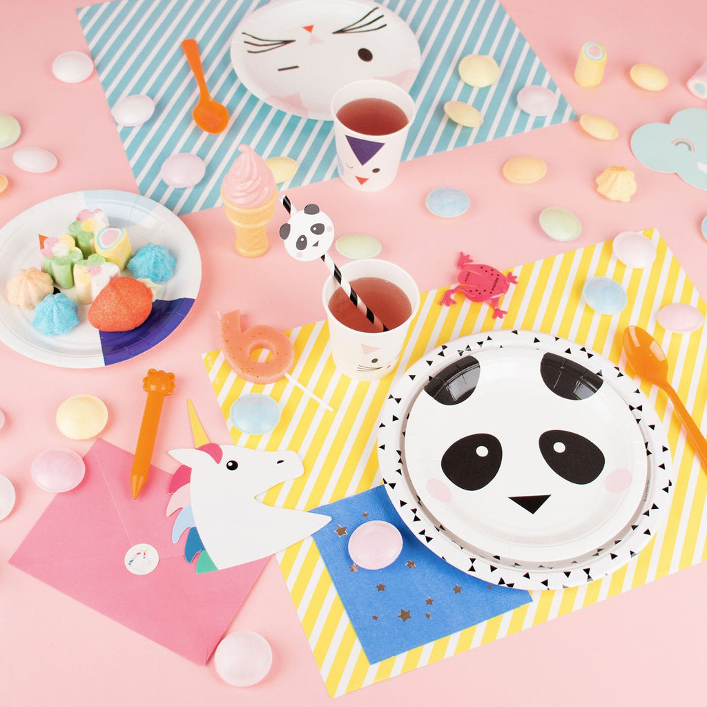 Table d'anniversaire enfant animaux par My Little Day.