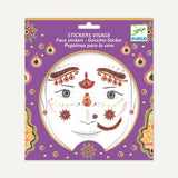 Stickers de peau - Princesse indienne