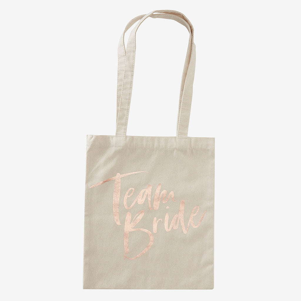 1 tote bag imprimé - Team bride  pour un evjf