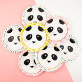 8 assiettes - mini panda - My Little Day