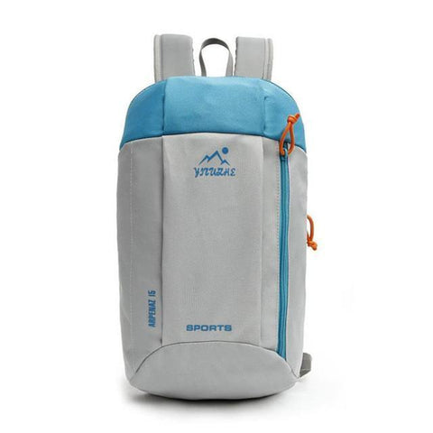 Bag - Mini Waterproof Backpack Blue and White I Damn Skippy Wear