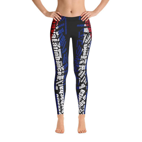 Image of ALD All Over Leggings (Poly/Spandex)