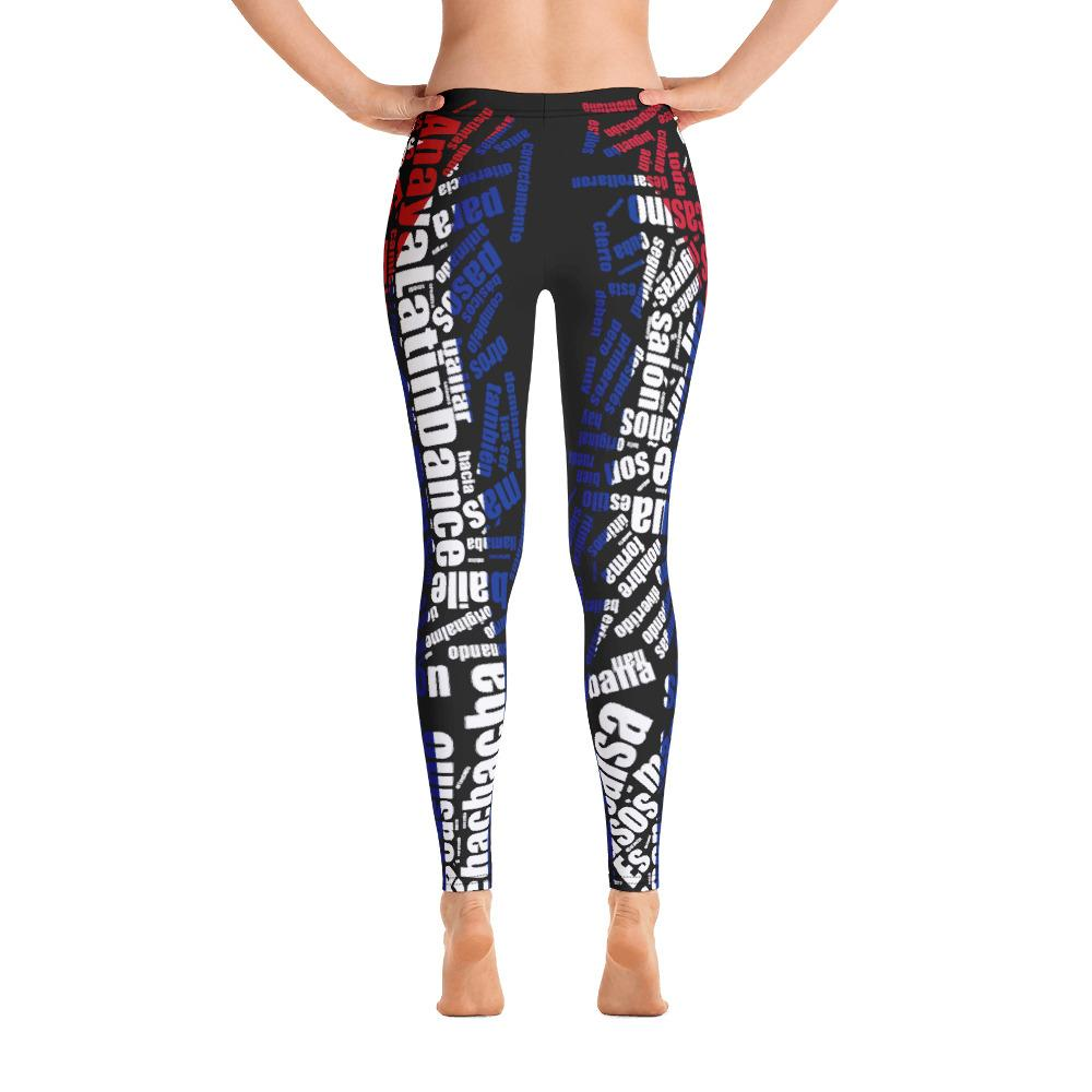 ALD All Over Leggings (Poly/Spandex)