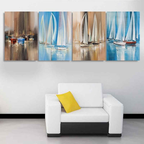 Image of Art - Elegance Sailboat Art