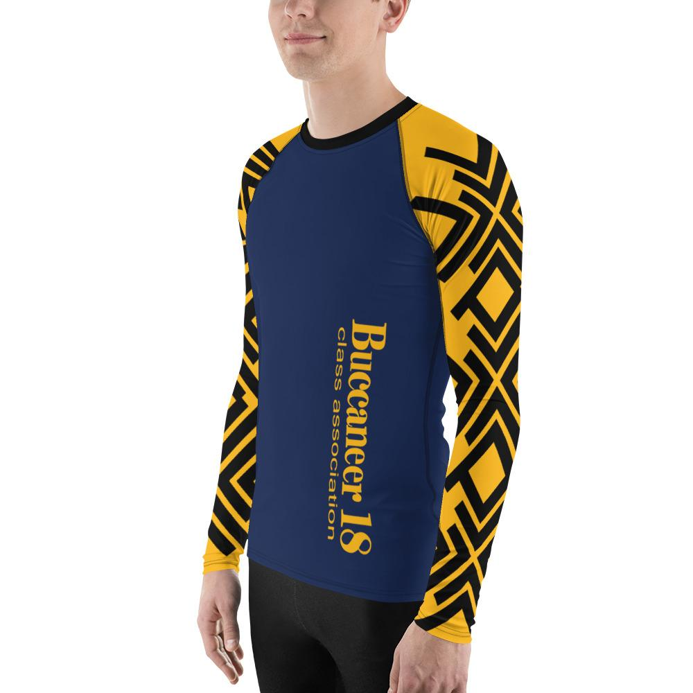 ASC Men's Rash Guard With UPF, Polyester/Spandex