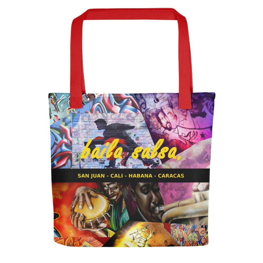 Bag - Baila Salsa (Salsa Graffiti Around The World) Tote