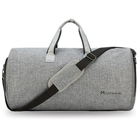 Bag - Business And Fun Travel Garment Bag Grey