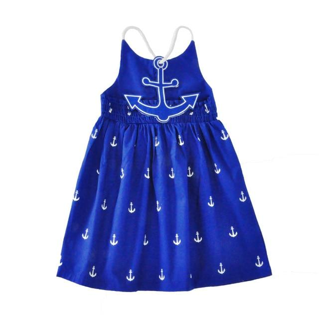 Beach Dress - Anchored Girl Sundress Damn Skippy Wear
