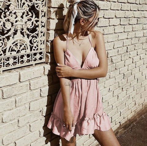 Beach Dress - Doll Lace Sun Dress