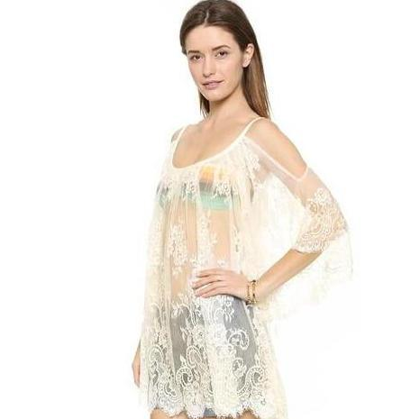 Beach Dress - Lace Beach Dress
