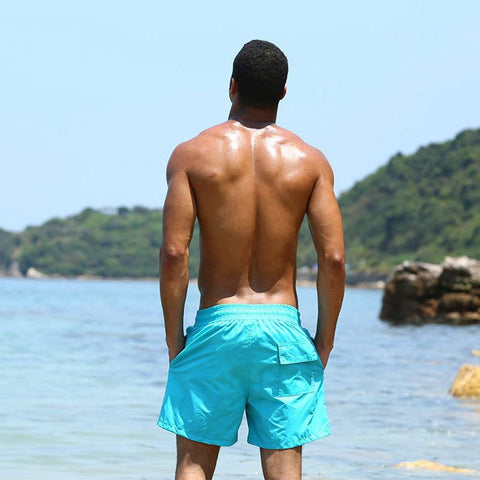 Image of Beach Shorts - Bermuda Swim Shorts -Damn-Skippy-Wear