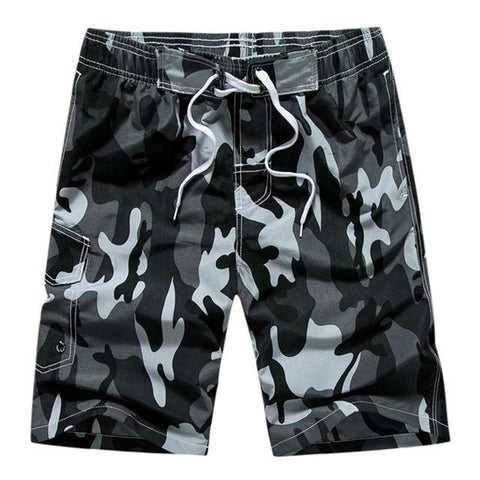 Beach Shorts - Regular And Plus Size Swim Trunks