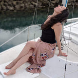 Image of Beach Skirt - WRAPsody Chiffon Skirt