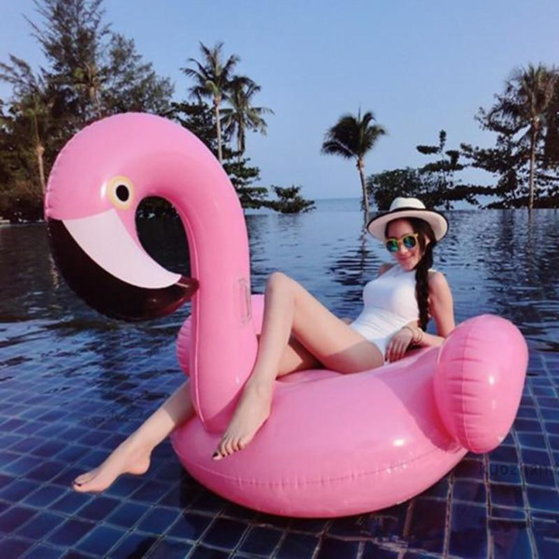 Charming Flamingo Inflatable Bed