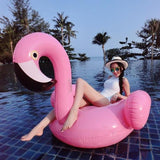 Image of Charming Flamingo Inflatable Bed