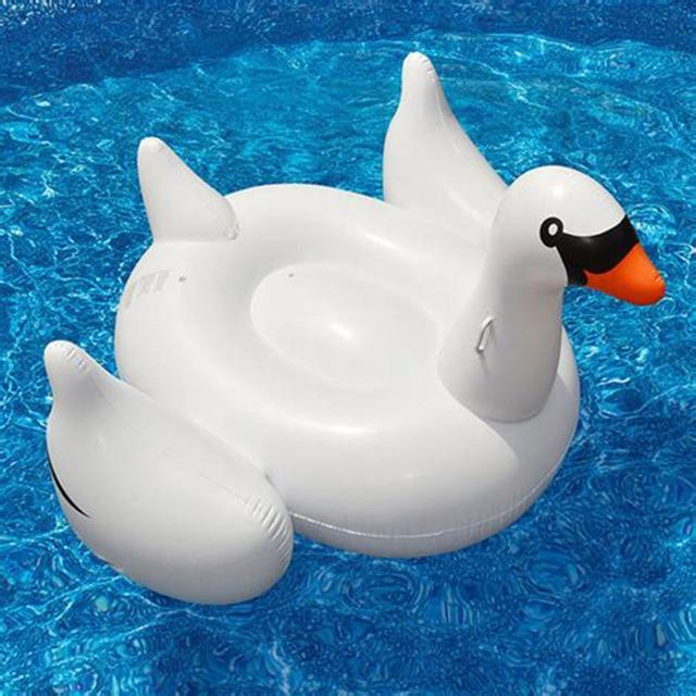 Charming Swan Inflatable Bed