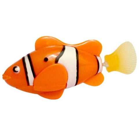 Image of Electronic Fish - High Quality Robot Clownfish Aquarium Fish Orange