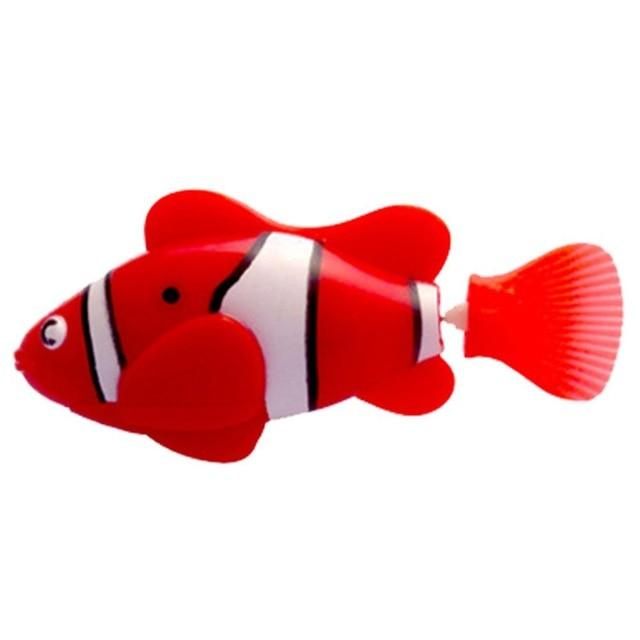 Electronic Fish - High Quality Robot Clownfish Aquarium Fish Red