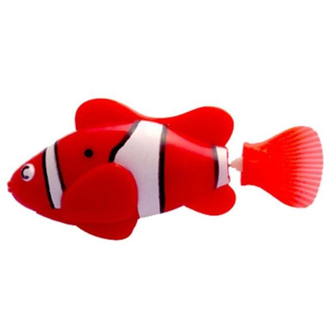 Image of Electronic Fish - High Quality Robot Clownfish Aquarium Fish Red