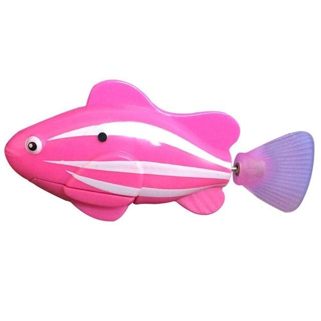 Electronic Fish - High Quality Robot Clownfish Aquarium Fish Pink
