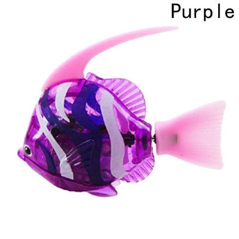 Image of Electronic Fish - High Quality Robot Moorish Idol Aquarium Fish Pink