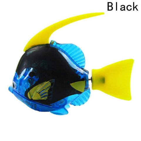 Image of Electronic Fish - High Quality Robot Moorish Idol Aquarium Fish Black
