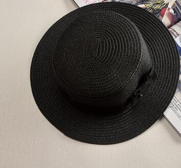 Fashionista Beach Sun Hat Black