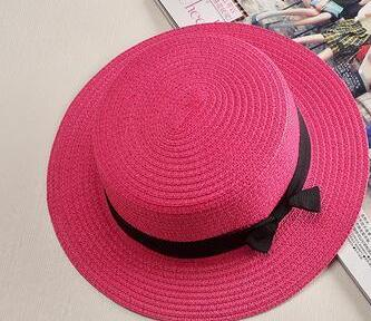 Fashionista Beach Sun Hat Red