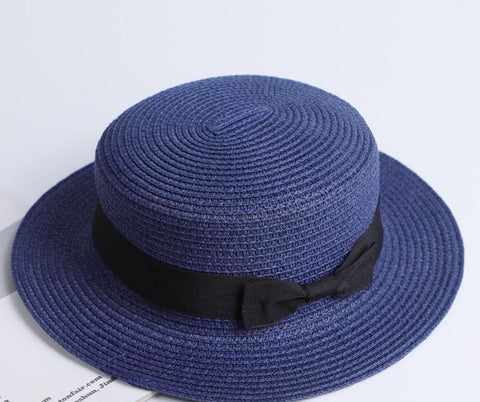 Image of Fashionista Beach Sun Hat Blue
