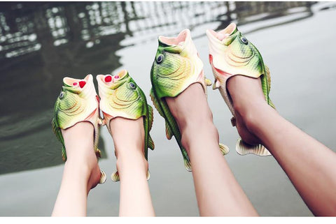 Image of Flips Flops - Amazing Fish Flips Flops Damn-Skippy-Wear
