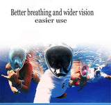 Image of Scuba Gear Full Face Diving Mask And Snorkeling Set