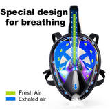 Image of Full Face Diving Mask And Snorkeling Set