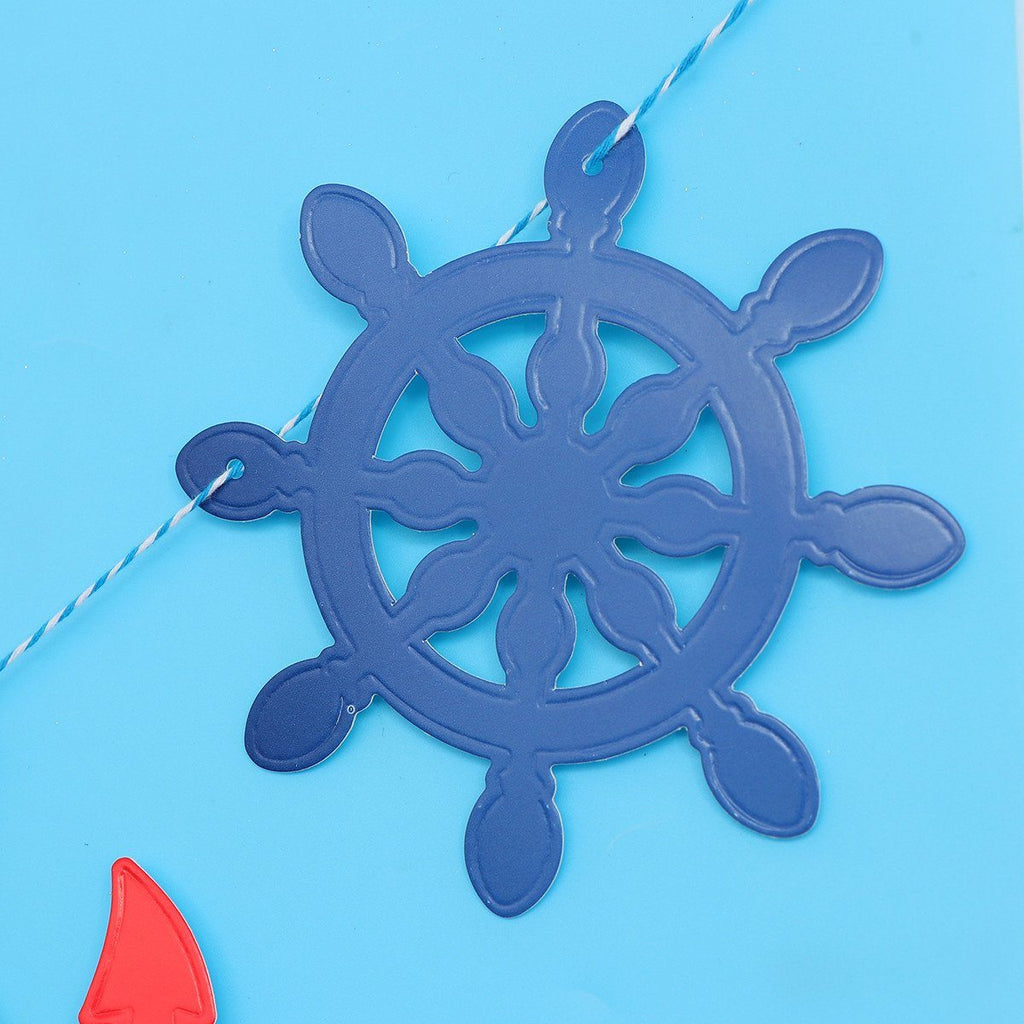 Home Decor - Nautical Theme Birthday Banner (For Babies And Toddlers)