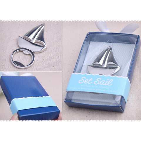 Image of Home Decor - Sailboat Bottle Opener (5pcs)