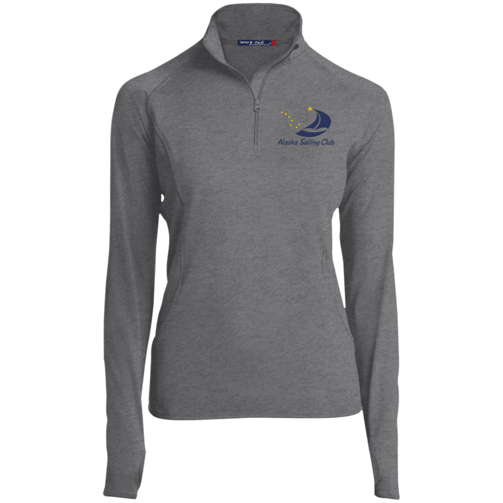 Jackets - ASC Women's 1/2 Zip Embroidered Performance Pullover