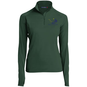 ASC Women's 1/2 Zip Embroidered Performance Pullover