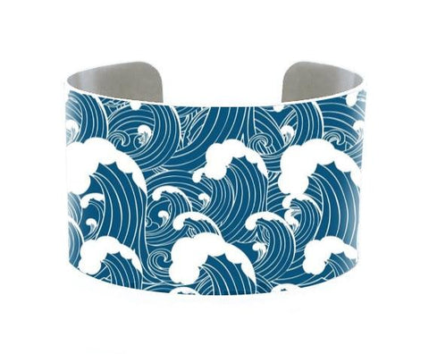 Image of Jewelry - 5 Oceans Cuff Bracelet - Atlantic Ocean