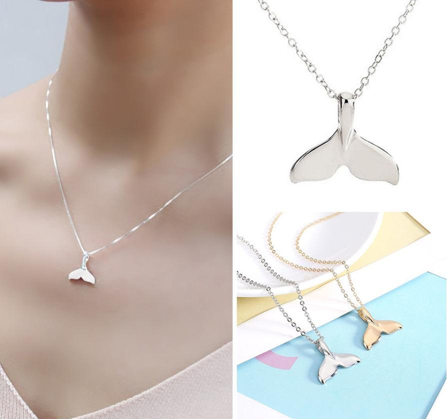 Jewelry - Fluke Whale Necklace