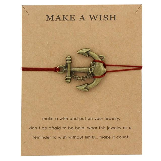 Jewelry - Make A Wish Ocean Inspired Charm Bracelets For Men And Women