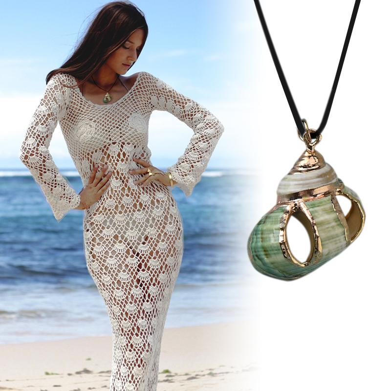 Jewelry - Nautilus Goddess Necklace