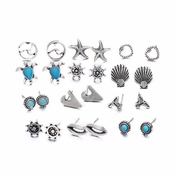 Jewelry - Sea Studs Earrings
