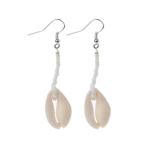 Image of Jewelry - Seashell Trail Earrings 1 seashell