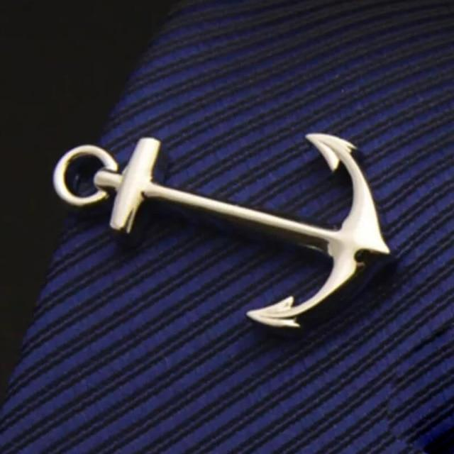 Jewelry - Stainless Seafaring Tie Pins