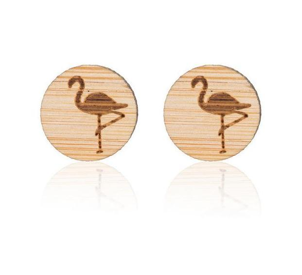 Jewelry - Timber Beach Stud Earrings Flamingo