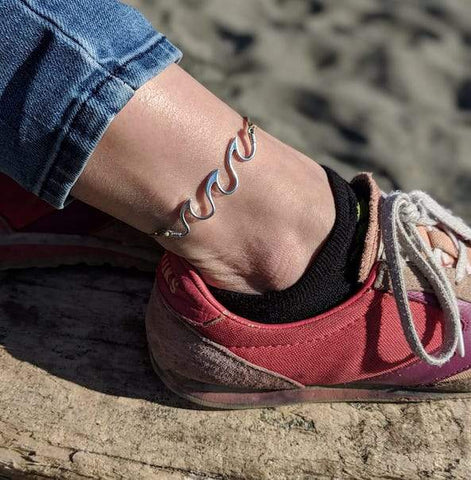 Jewelry - Waving Sea Shell Anklet