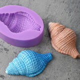 Image of Kitchen - Seashells Silicone Cake Decorating Baking Mold