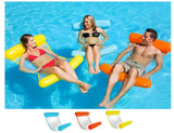 Image of Pool Toy - Swimming Pool Foldable Inflatable Floating Chair